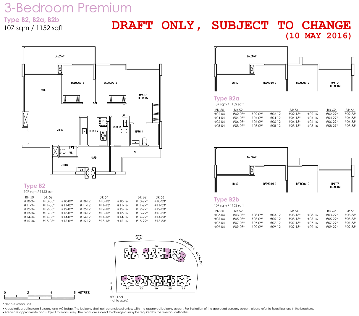 Treasure Crest Floor Plans 3 Bedroom Premium