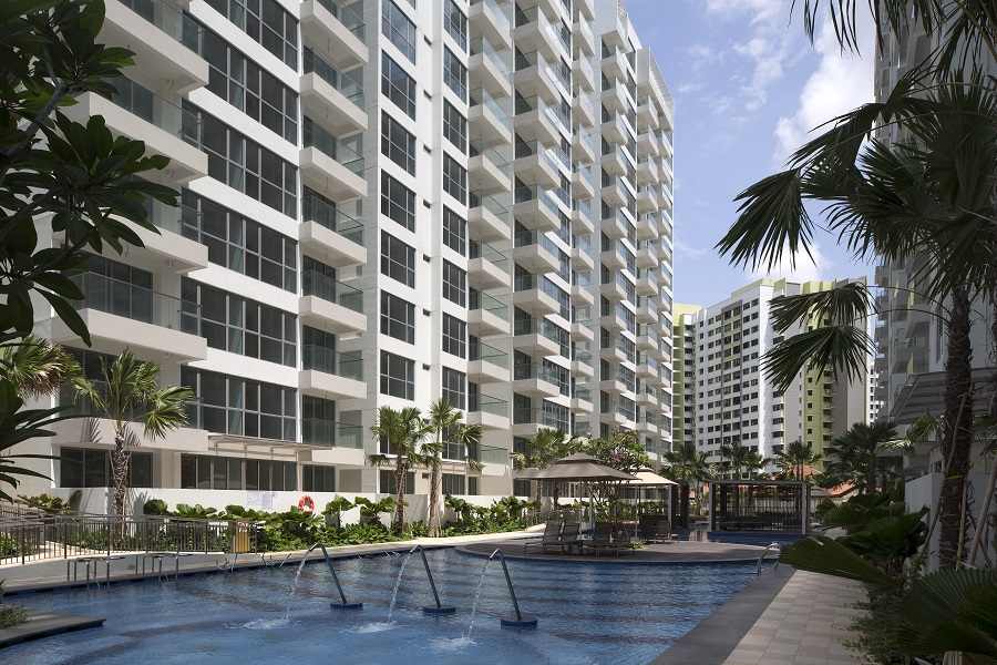 Treasure Trove in Punggol by Sim Lian . Developer for Treasure Crest Condo