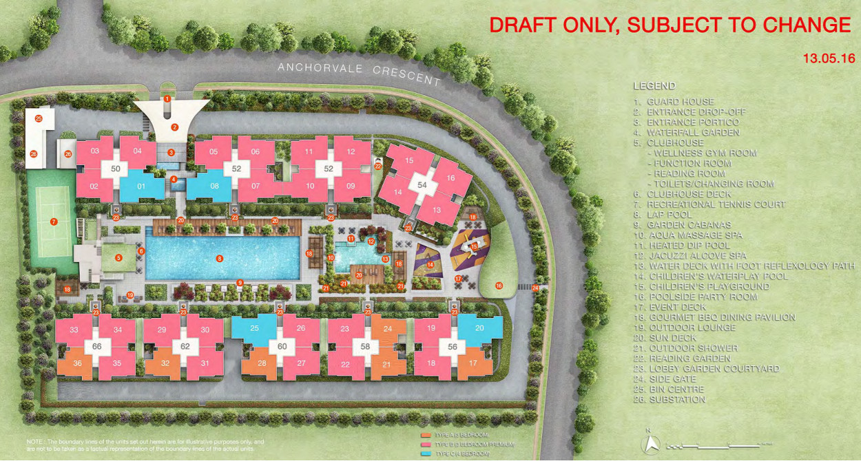 Treasure Crest Site Plan Layout