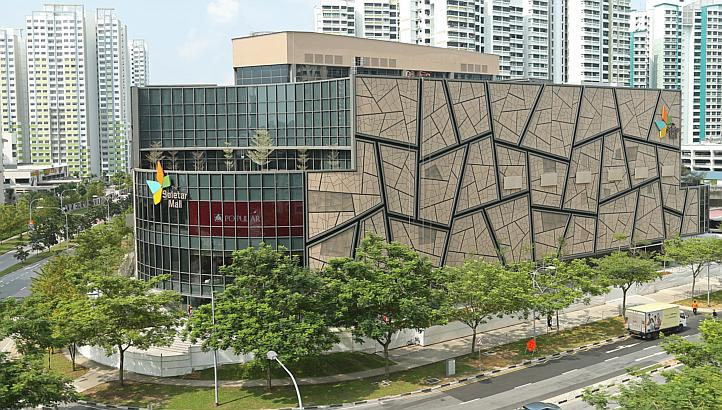 Seletar Mall 4 LRT train stops from Treasure Crest Executive Condo